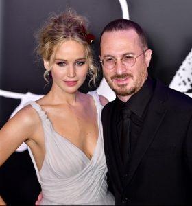 Jennifer Lawrence e il compagno Darren Aronofsky