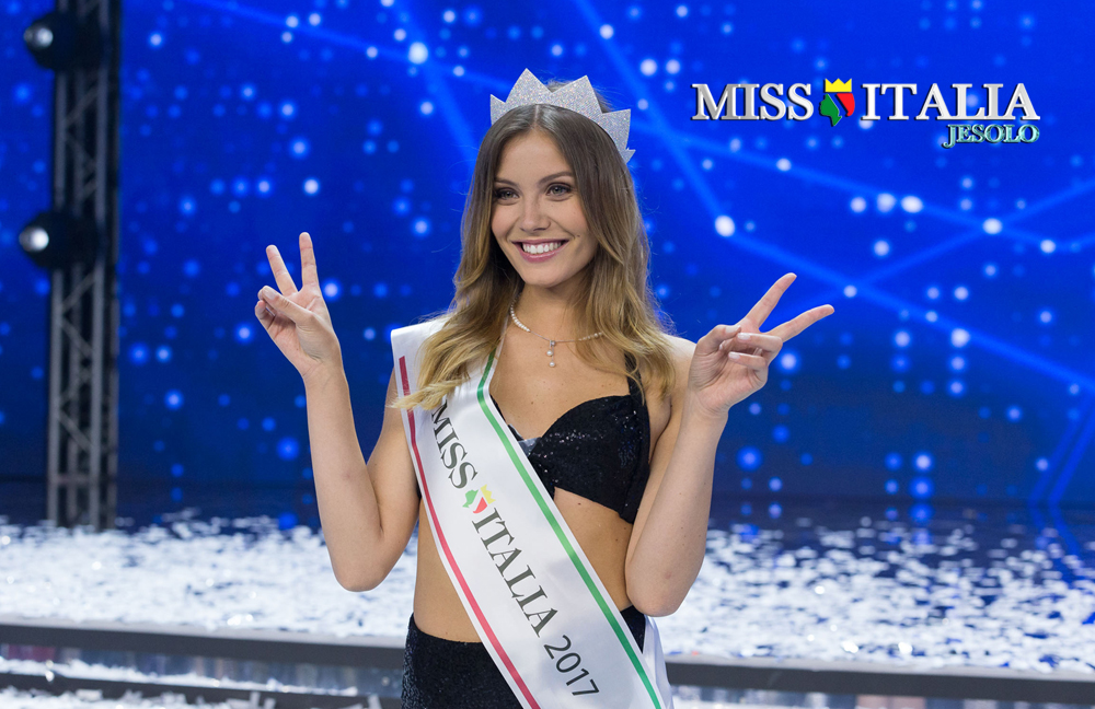 Un'immagine della nuova Miss Italia