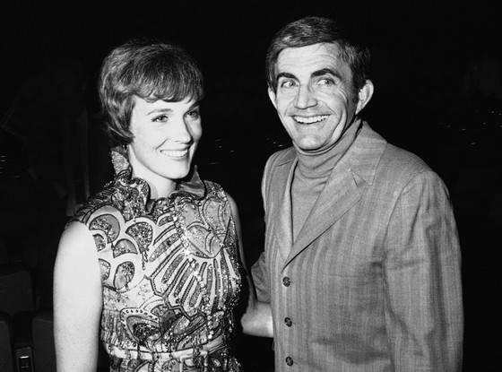 Julie Andrews e Blake Edwards