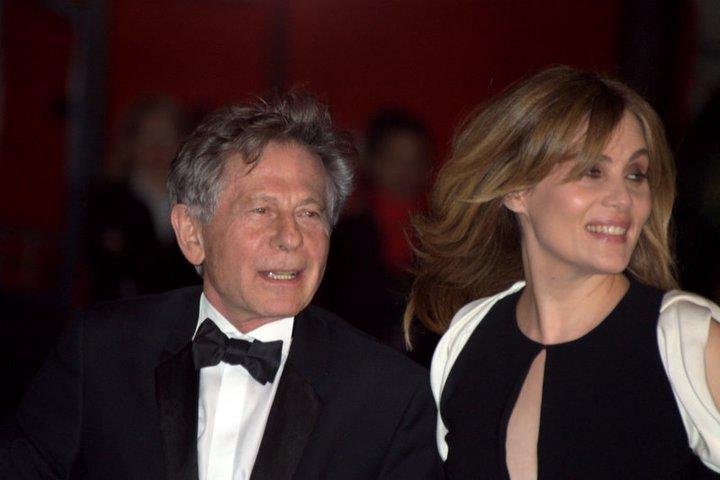 Roman Polanski ed Emmanuel Seigner