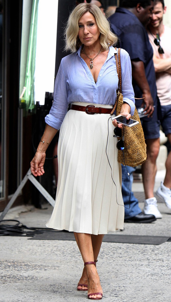 Sarah Jessica Parker sul set di Best Day Of My Life