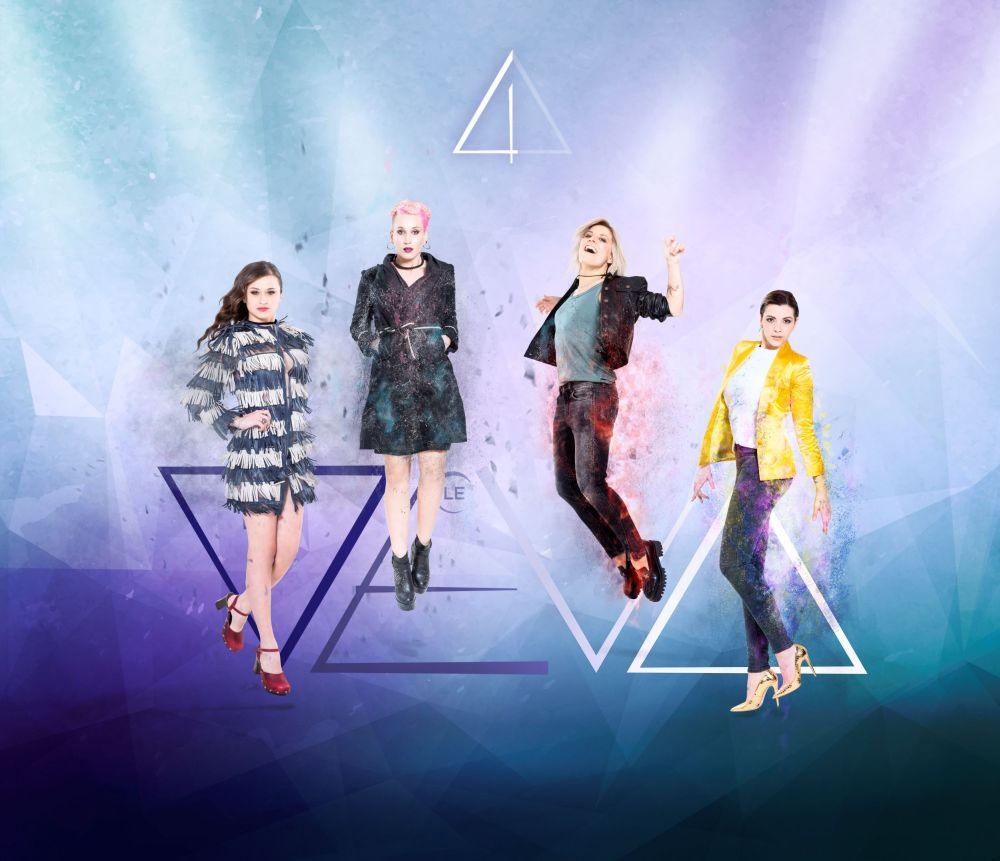 La copertina dell'album delle Deva