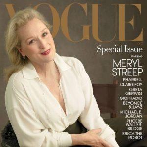 Meryl Streep sulla copertina di Vogue