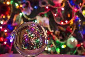 Un tipico decoro di Natale