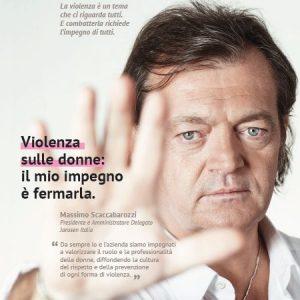 Violenza, la campagna Janssen