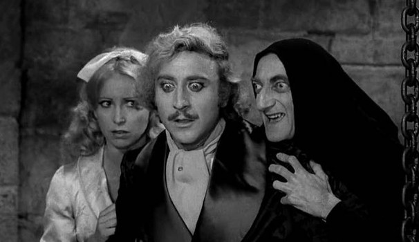 I film di Natale, Frankenstein Junior