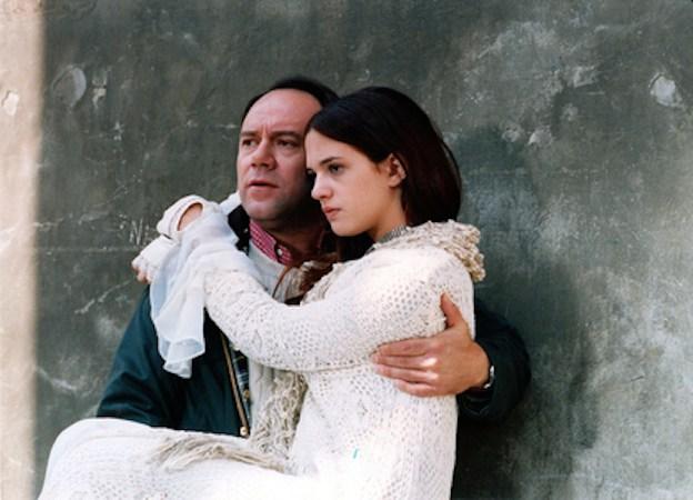 Carlo Verdone e Asia Argento in una scena di Perdiamoci di vista