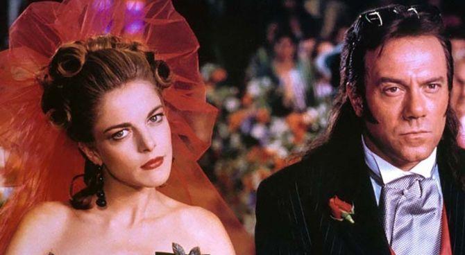 Carlo Verdone e Claudia Gerini in una scena di Viaggi di nozze