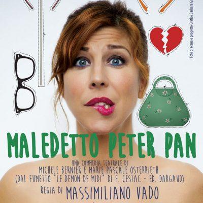 Michela Andreozzi in Maledetto Peter Pan, 21 personaggi e un tradimento da cui imparare