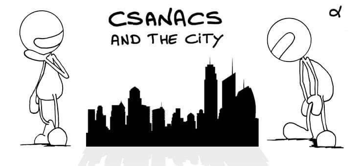 Csanacs and the city banner