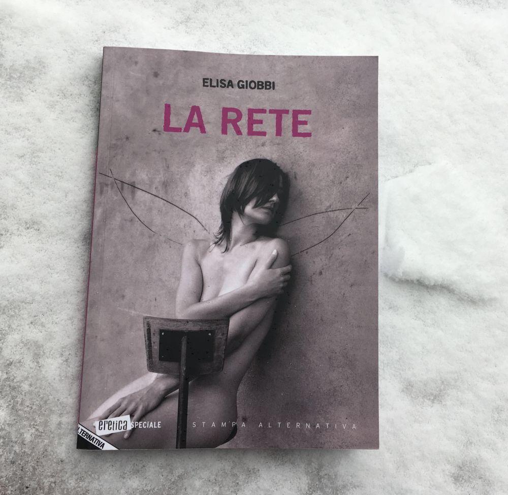 La rete, la copertina del romanzo di Elisa Giobbi