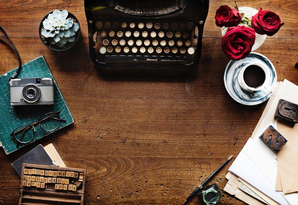Candy Candy, una macchina da scrivere per le storie