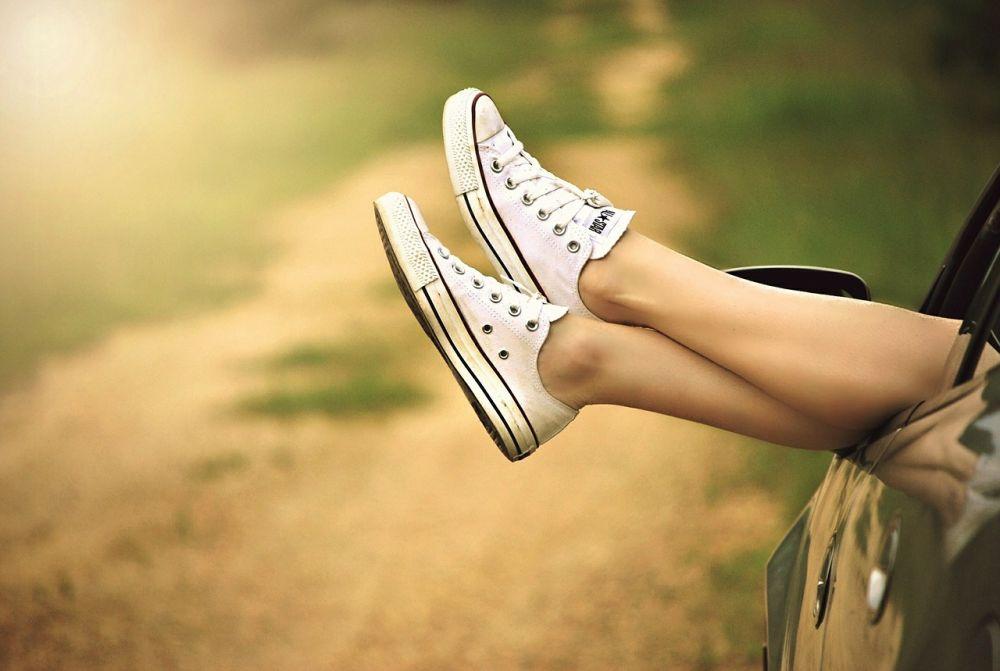 Donne in gamba, le gambe di una donna