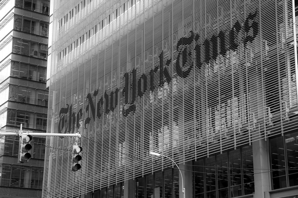 Pulitzer, premiato il New York Times