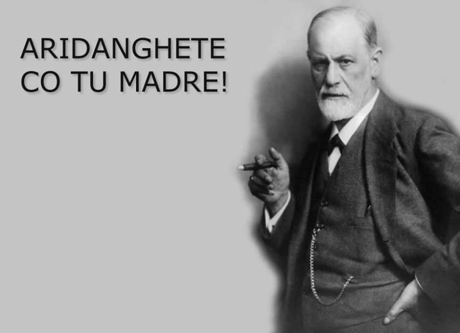 Brave con la lingua, Freud e la madre