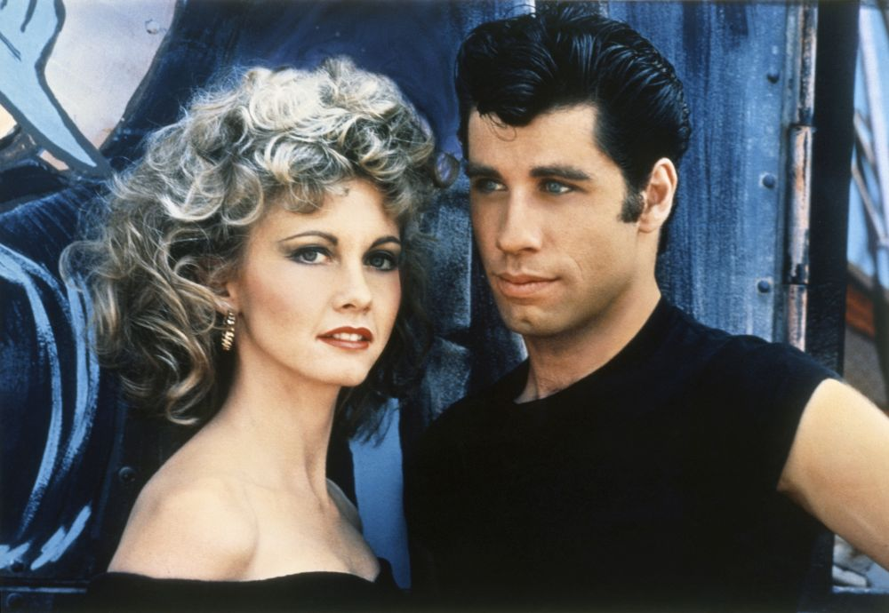 Grease, i due protagonisti