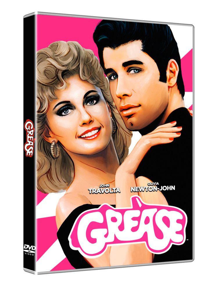 Grease, la copertina del DVD