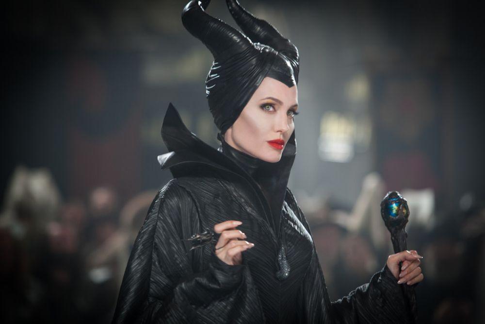 Maleficent, un'immagine della protagonista Angelina Jolie
