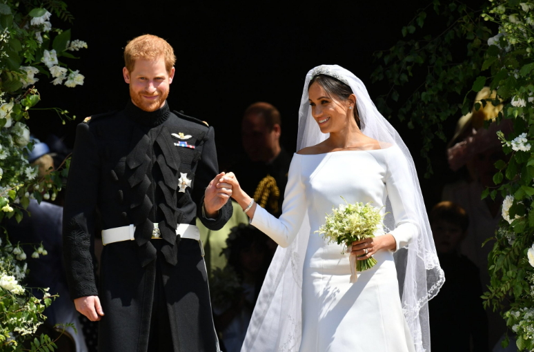 Royal Wedding, i due sposi escono dalla chiesa