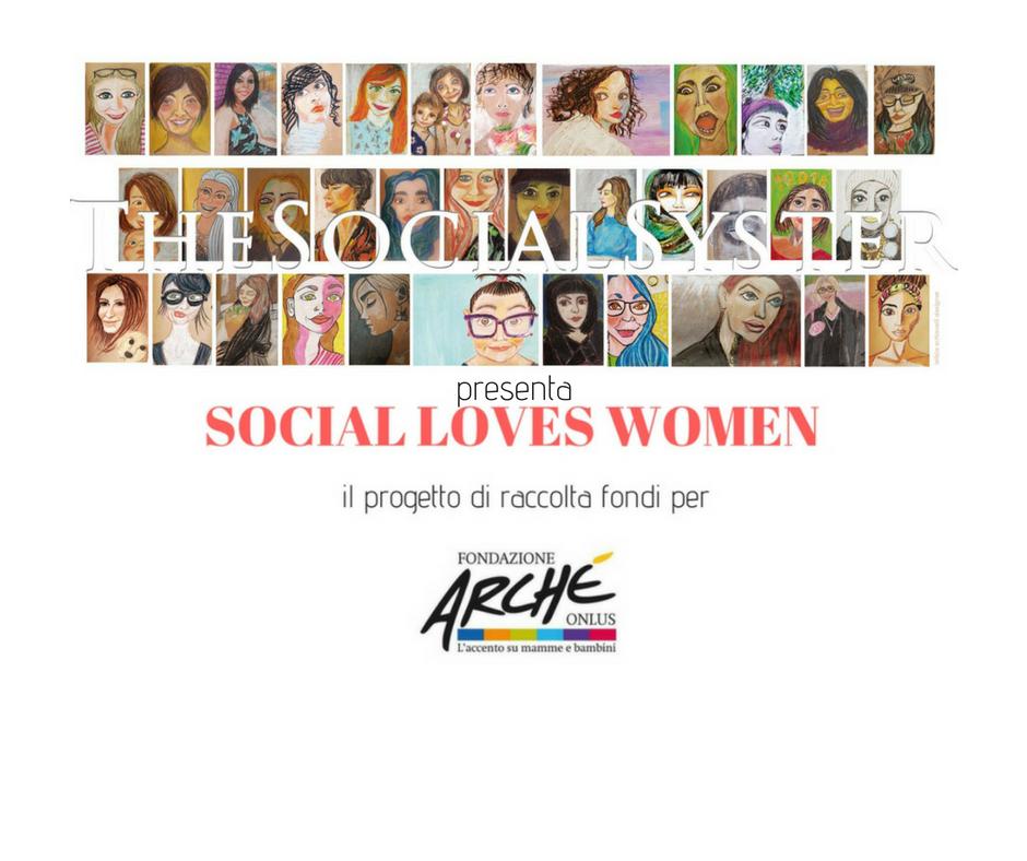 Social Loves Women, il banner del progetto