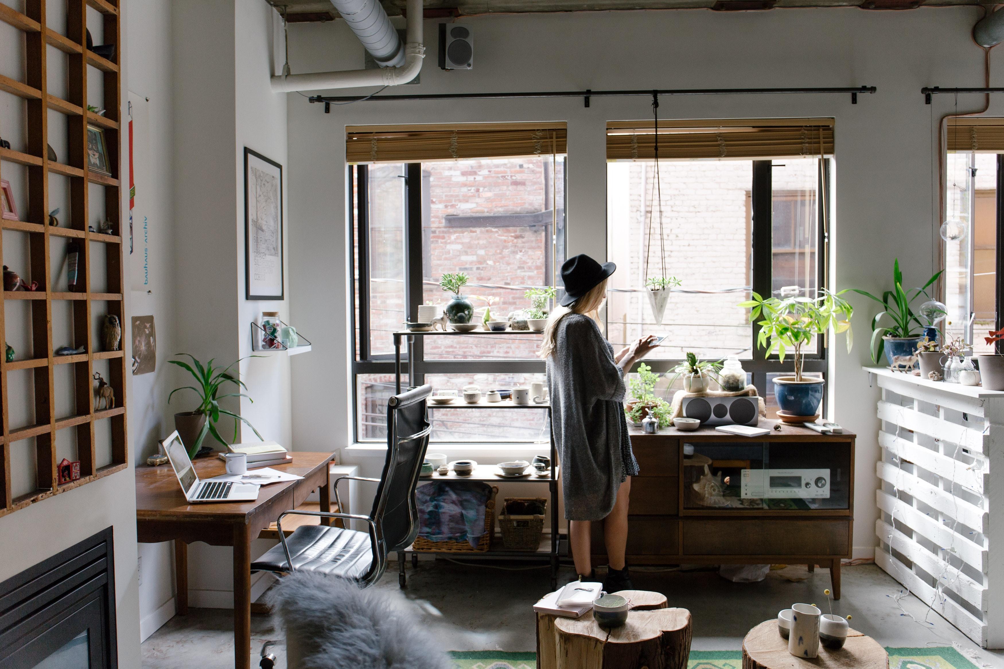 Casa, l'interno di un piccolo appartamento