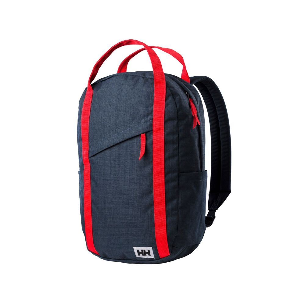 Helly Hansen, l'Oslo Backpack rosso e blu