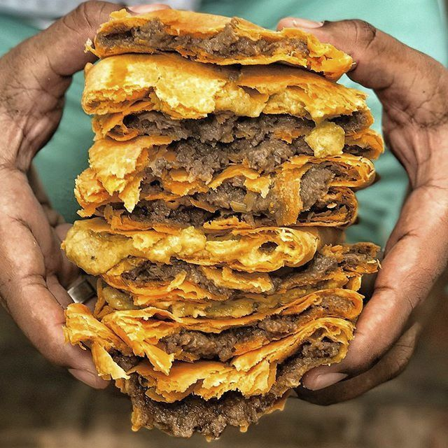 Giamaica, le frittelle ripiene