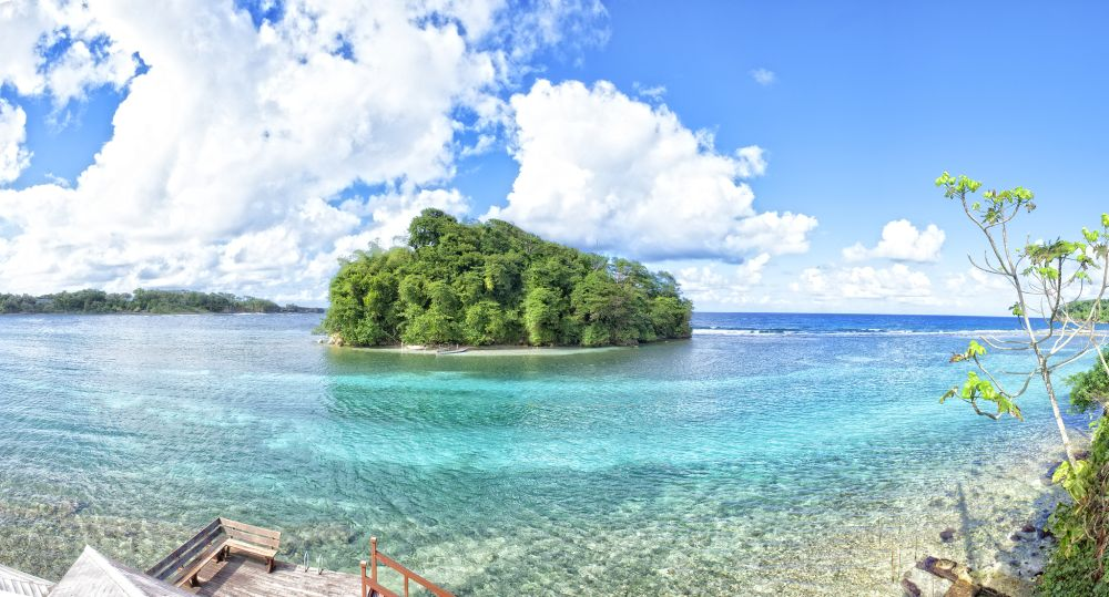 Giamaica, un dettaglio del mare