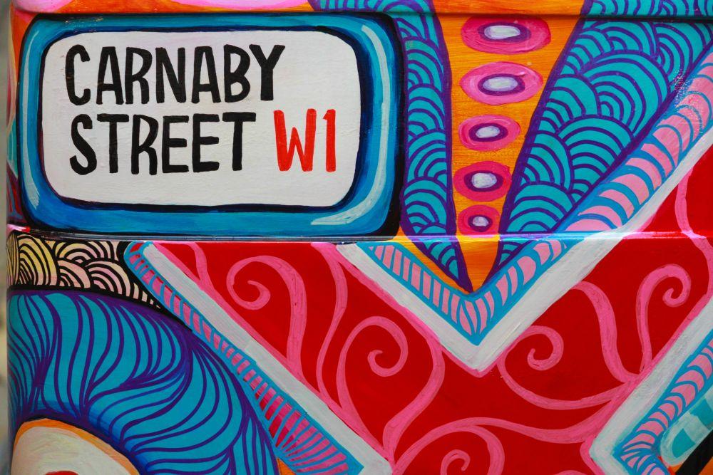 Londra, un dettaglio della celebre Carnaby Street
