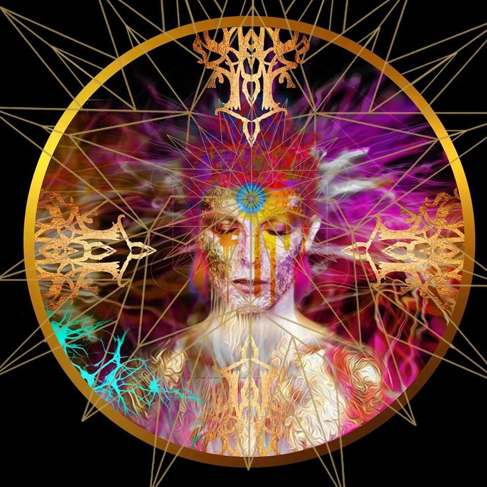 Starman Tarot, un primo piano di David Bowie