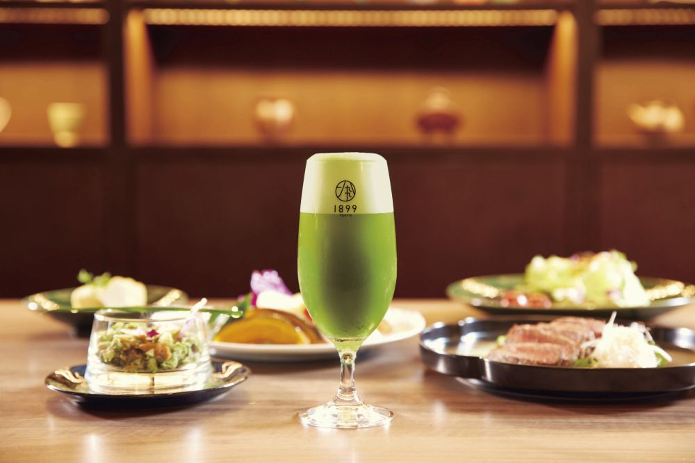 Tokyo, Green Tea 1899 Restaurant Ochanomizu