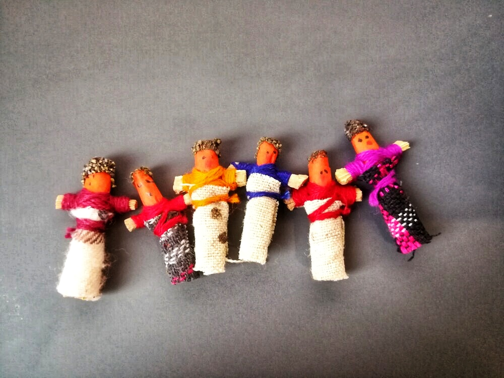Worry dolls, le bambole magiche dei Maya