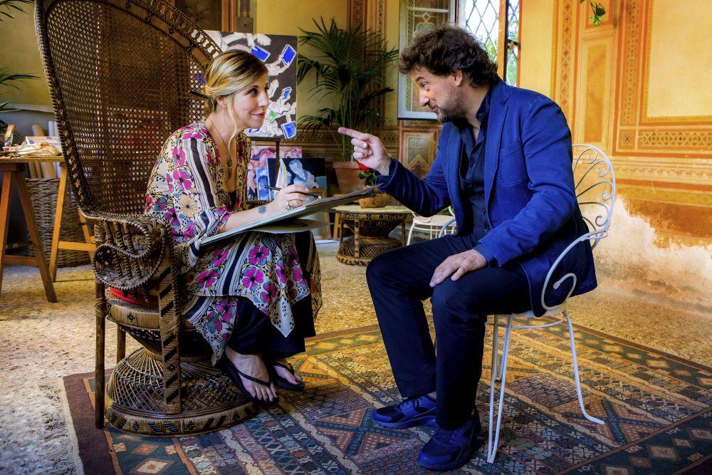 Se son rose, Leonardo Pieraccioni e Michela Andreozzi in una scena