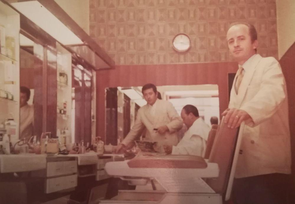 Papà, un'immagine del maggio 1969