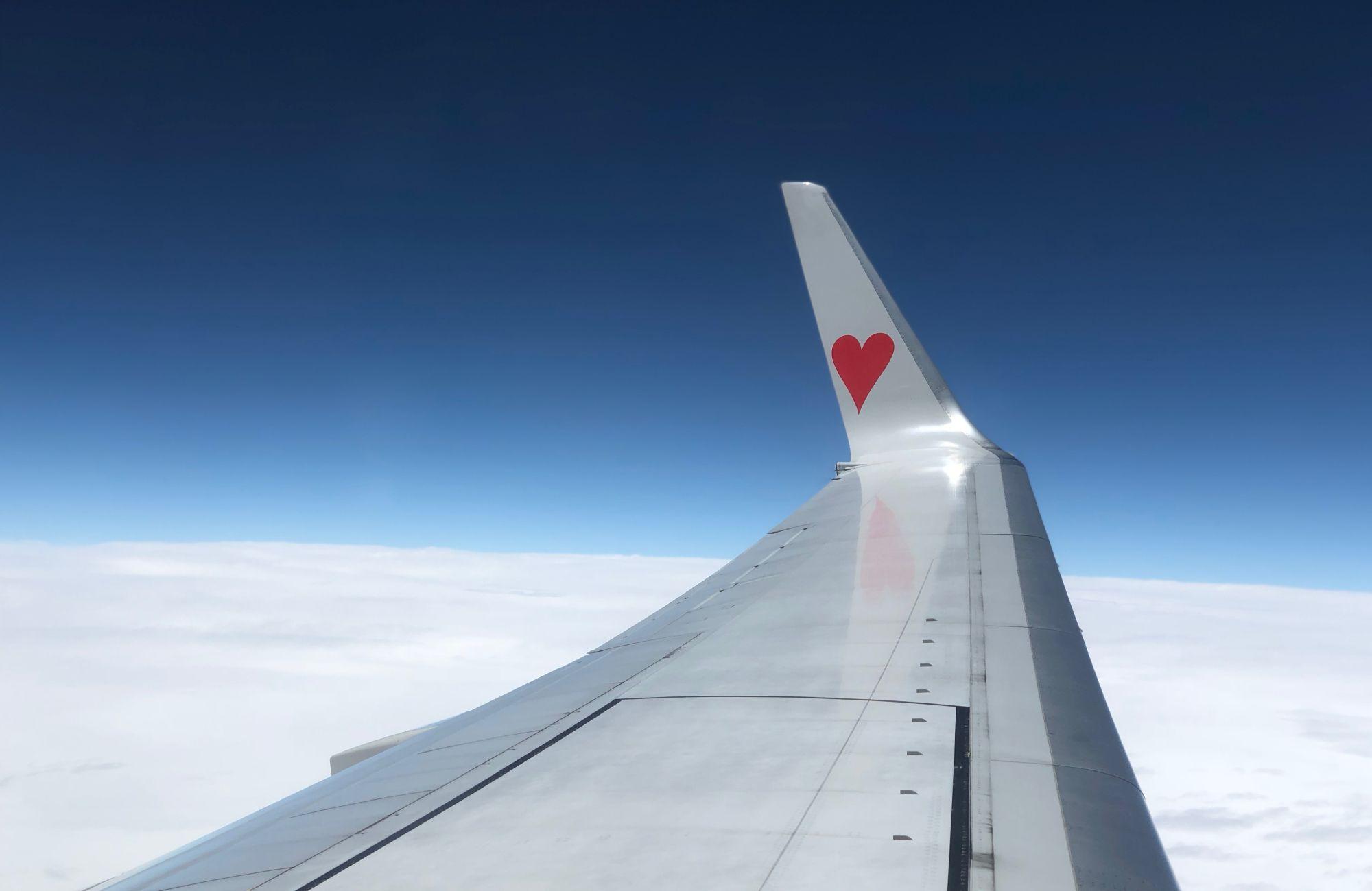 Liquidi aereo con cuore