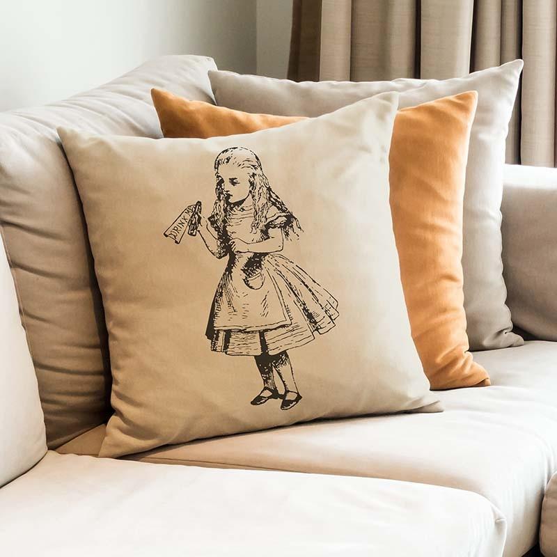 regalo di Natale, il cuscino di Alice