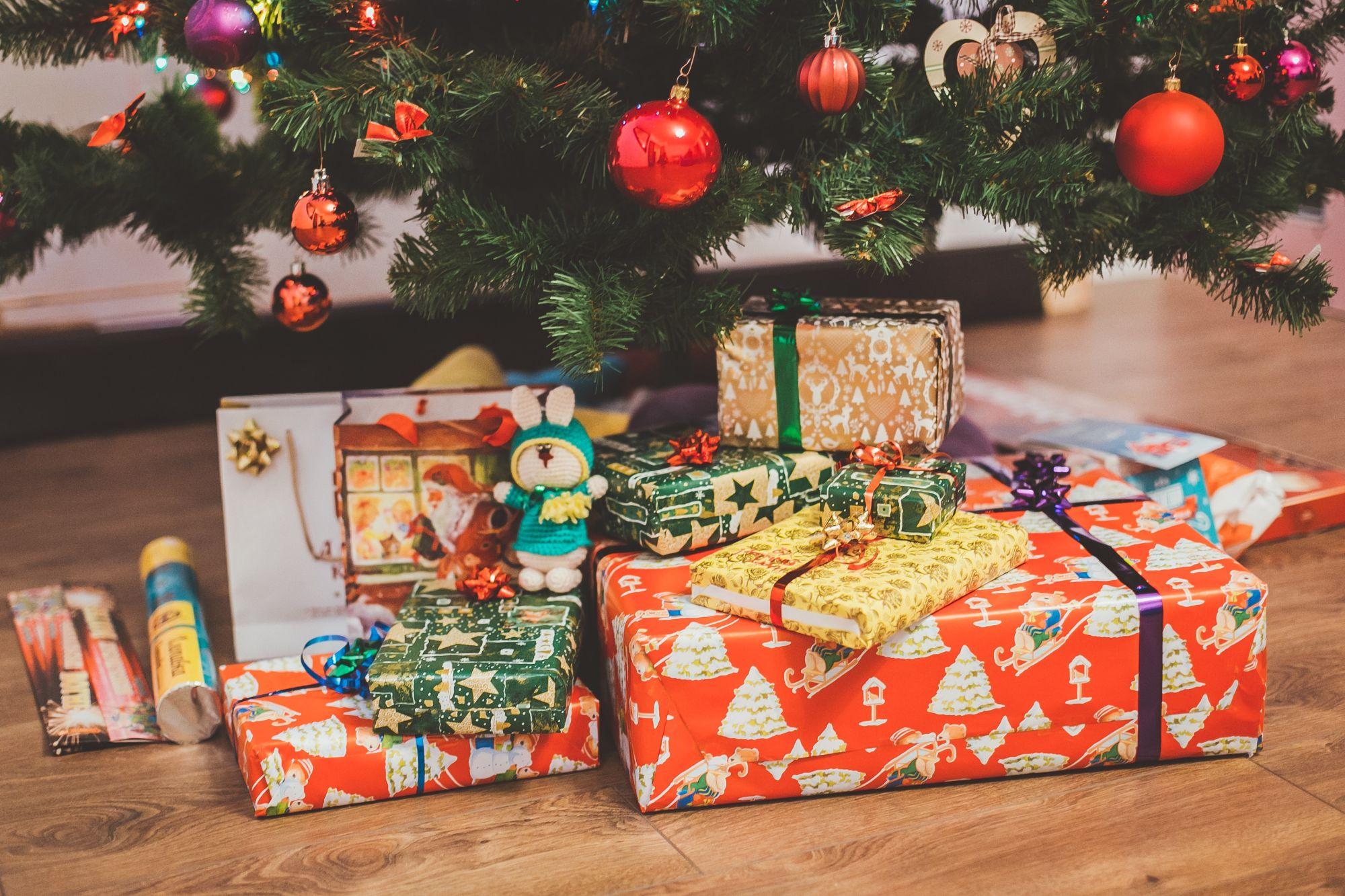 regalo di Natale, albero