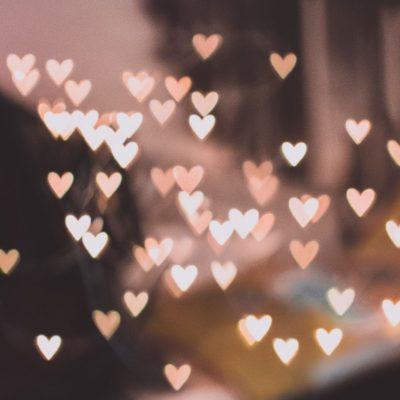 Festa degli innamorati, cuori di luce