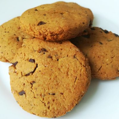 biscotti vegani al cioccolato