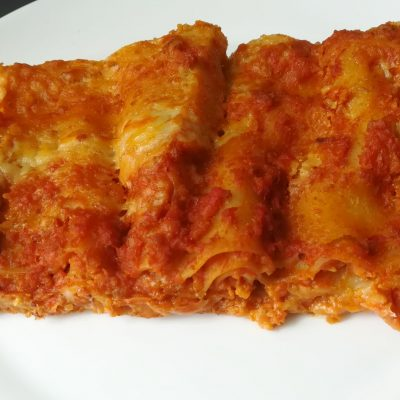 Lasagne vegan ultraveloci con ragù al seitan