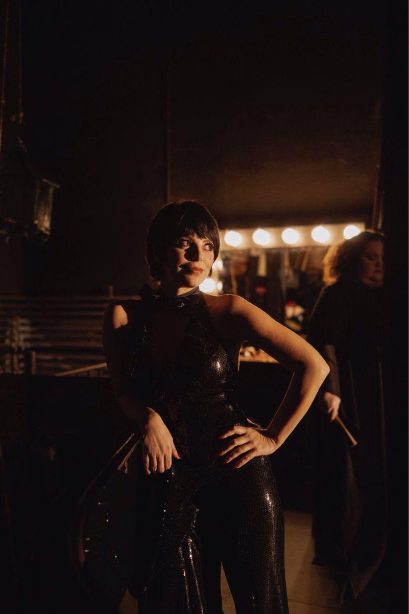 Halston: Liza Minnelli