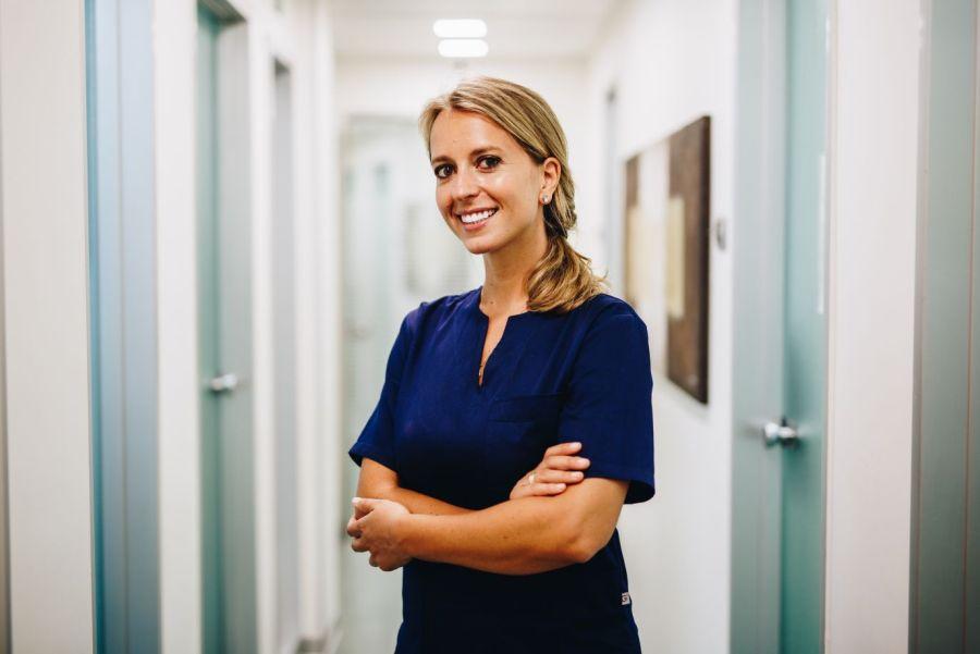 Clotilde Austoni: la dottoressa sorridente