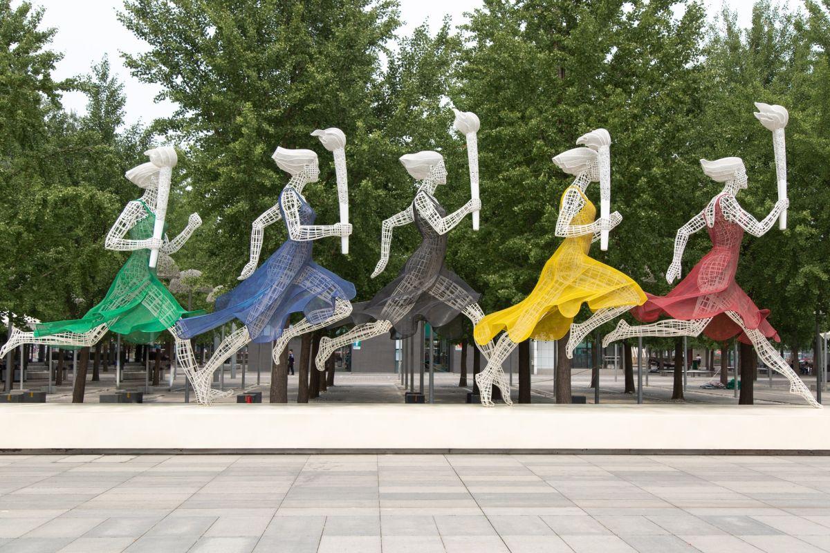 Olimpiadi: un'allestimento dedicato alle donne